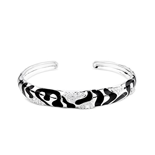 giapponese e coreano moda925 donne d'argento braccialetto/Zebra print design gioielli in argento moda/ gioielli-A