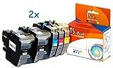 TS-Print Ersatz Tintenpatronen Kompatibel Brother LC-3219XL Magenta MFC-J5330DW MFC-J5335DW MFC-J5730DW MFC-J5830DW MFC-J5930DW MFC-J6530DW MFC-J6535DW MFC-J6730DW MFC-J6930DW MFC-J6935DW LC-3217 XL