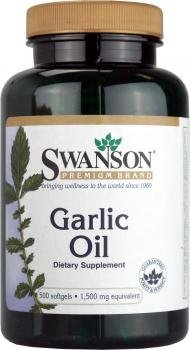 Swanson Garlic Oil 1,500mg (500 Softgels) by Swanson Health Products
