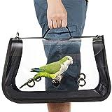 YFairy - trasportino per Uccelli da Viaggio, Esterno, Gabbia per Il Trasporto degli Uccelli, Traspirante, Zaino per pappagalli