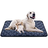 Weiche Hundebett Große Hunde Luxuriöse Hundedecken Waschbar Strapazierfähige Hundekissen Rutschfeste Hundematte Grau XL HeroDog
