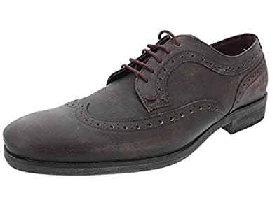 kost - chaussures richelieu a lacets cafe kady homme kost f71kost021 - taille : 40
