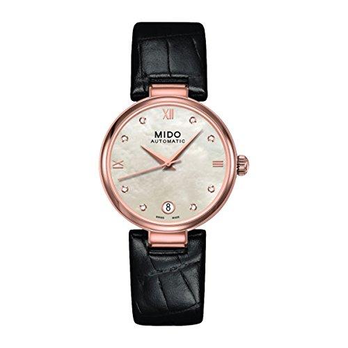 Mido Damen-Armbanduhr Analog Automatik Leder M0222073611610