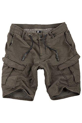 Sublevel Jogg Jeans Shorts Herren Kurze Hose Denim Sommer Jogger Bermuda Chino (Braun-57K, - China Männer