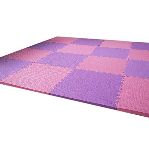 GHGMM Teppich Fußmatten Krabbelmatte, spleißen Schaum Haushalt Kind Krabbeldecke, Wohnzimmer Schlafzimmer Feuchtigkeitsbeständig Bodenmatte
