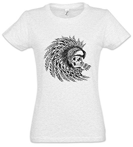 Dead Aztec Warrior Mujer Girlie Women T-Shirt - Tamaños S - 5XL
