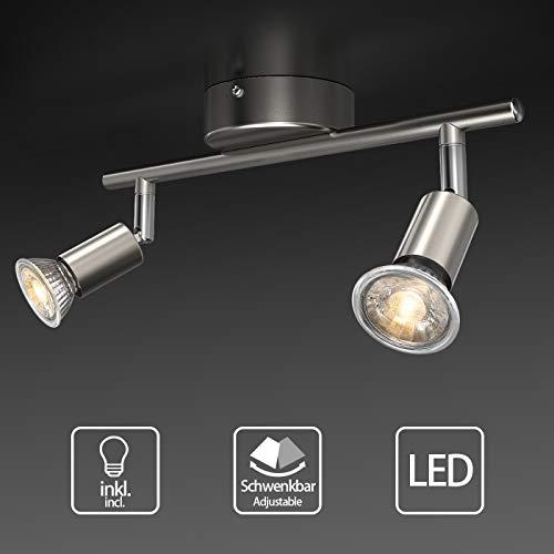 Uchrolls Foco LED techo I 2 vías lamparas