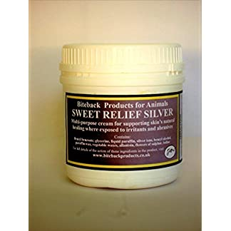 Biteback Products 'Sweet Relief Silver'™ Multi-Purpose Cream For Supporting Sore Skin's Natural Healing 500g 8