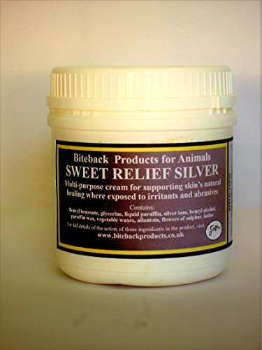 Biteback Products 'Sweet Relief Silver'™ Multi-Purpose Cream For Supporting Sore Skin's Natural Healing 500g 1
