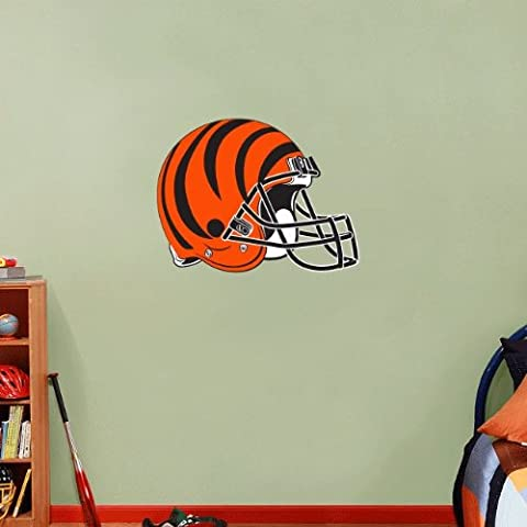 Cincinnati Bengals NFL Football Pared Vinilo Adhesivo 63 x 48 cm de decoración para el hogar
