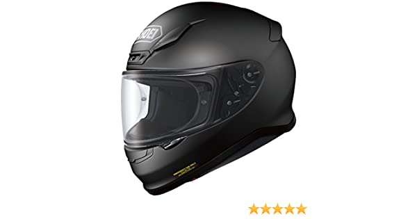 25894050 SHOEI NXR MATT BLACK FULL FACE MOTORCYCLE SPORTS HELMET NEW  L,4512048407230: Shoei: Amazon.co.uk: Car & Motorbike