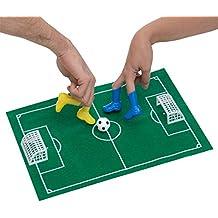 dedos kit de juego de fútbol de la alfombra 1, 4 botas, 1 bola