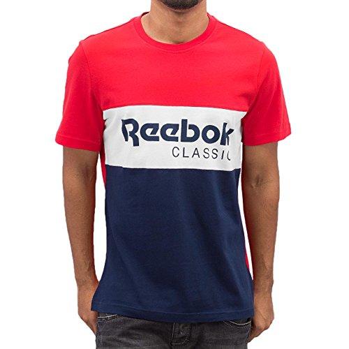 reebok-f-archive-stripe-te-t-shirt-da-uomo-multicolore-prired-small