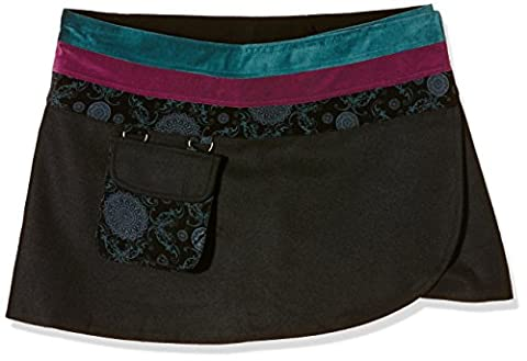 Joe Browns Damen Rock Wrap Around Grün-Green (Green Multi), 44 (Mini Wrap Around Wrap)