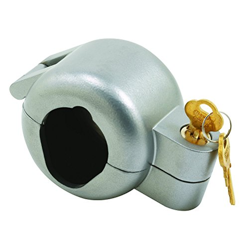 Prime-Line Products S 4180 Door Knob Lock-Out Device, Diecast Construction, Gray Painted Color, Keyed Alike by Prime-Line Products
