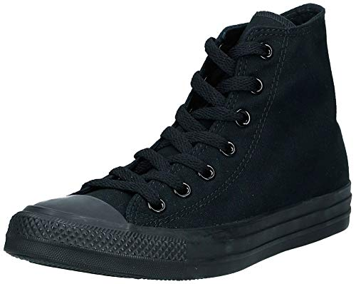 Converse C Taylor A/S - Zapatillas de Deporte Unisex Adulto, Negro Black Monochrome, 39 EU
