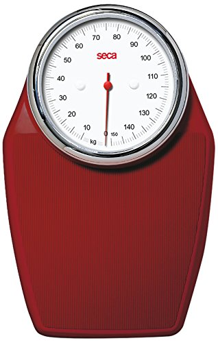 Seca 760 - Báscula analógica, color rojo