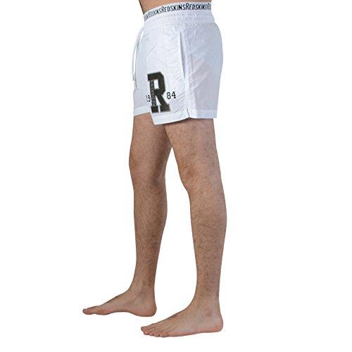Redskins Badeshorts RED 01 Weiß Blanc