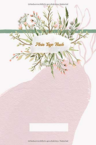Mein Tage Buch: Dein Periodenkalender für 12 Monate | behalte deine Erdbeerwochen im Blick | Zykluskalender | Menstruationskalender für Mädchen und Frauen