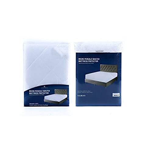 Gaveno Cavalia Super Soft MICRO PERCALE MATTRESS PROTECTOR, White,