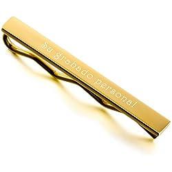Mensaje personalizado - Grabado- dorado