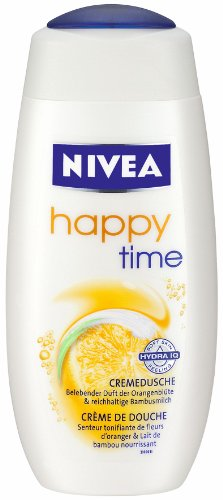Nivea Cremedusche Happy Time , 4er Pack (4 x 250 ml)