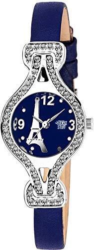 Swadesi Stuff New Arrival Luxury Blue Color Analog Watch for Girls & Women
