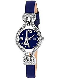 Swadesi Stuff New Arrival Luxury Blue Color Analog Watch for Girls & Women