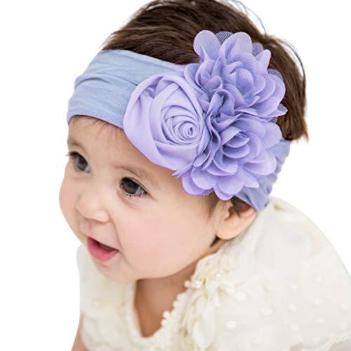 8dc28b4e6e6e7f AMUSTER Baby Kinder Haarband Mädchen Stirnband Kopfband Blumen Blüte  Haarschmuck Headband Hairband.