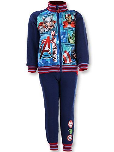 en Iron Man Capt Amerika Druck Fleece-Futter Anzug Trackpant Jogger Alter 10 Jahre (Iron Man Kinder Anzug)