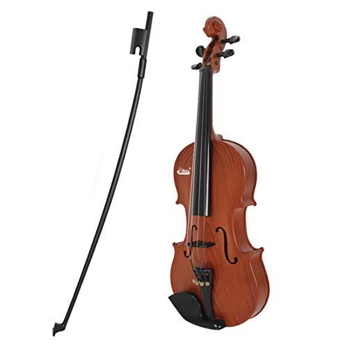 TETAKE Geige Kinder, Spielbar Kindergeige Spielzeug, Spielzeugvioline Anfänger Kinder Violine ab 3 Jahre