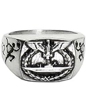 MK-art Militaria Ring, Deutscher U-Boot Ring U552 Erich Topp,