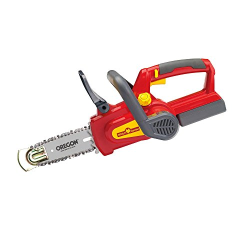 WOLF-Garten CSA700 18 V Li-Ion Chainsaw – Red/Yellow