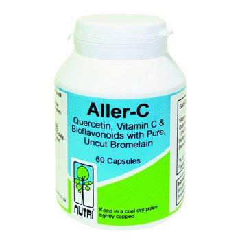 Nutri Aller C, Quercetin, Vitamin C & Bioflavonoids with Pure Uncut Bromelain