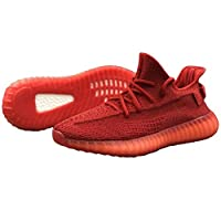 YEEZY 350 V2- SNEAKERS RUNNING SHOES HOT RED ANTLIA (40)