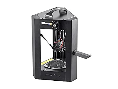 Monoprice Mini Delta 3D Printer Heated Build Plate Fully Assembled w/Micro SD with UK Type G Power Plug 124169