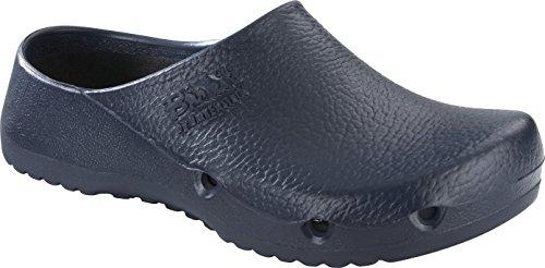 BIRKENSTOCK Unisex-Erwachsene 63070 Birki Air Antistatic Damen & Herren Clogs, Pantoletten, Sandalen Blau (Blue), EU 44 - Erde-schuh-sandalen Frauen