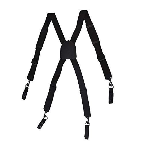 AISENIN Suspenders Tácticos Acolchados Ajustables para Hombre con 4 F