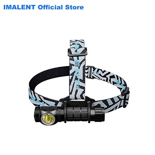IMALENT HR20 Head Torch LED 1000 Lumen Flashlight USB aufladbare Stirnlampe für Radfahren, Klettern, Camping, Hundesport, Wandern, Angeln, Nachtlesen, Laufen und andere Outdoor- und Indoor-Aktivitäten