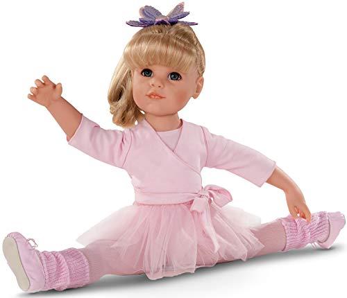 Hannah Strumpfhosen (Götz 1359067 Hannah am Ballett 50 cm stehende Puppe mit blonden Haaren, div.)