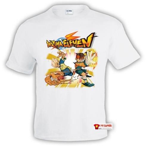 camiseta-inazuma-eleven-power-blanca-talla-7-8-anos