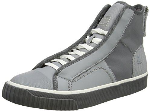 G-STAR RAW Herren Scuba Mid Reflective Hohe Sneaker, Grau (Industrial Grey), 43 EU (Herren Grau High-top-schuhe 10)