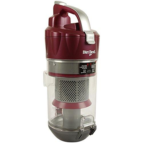 Dirt Devil Staubbehälter 5036004 | Ersatzteil, Staubauffangbehälter, himbeer | für Infinity VS8 / Turbo / Eco / Carbon / Loop / M8