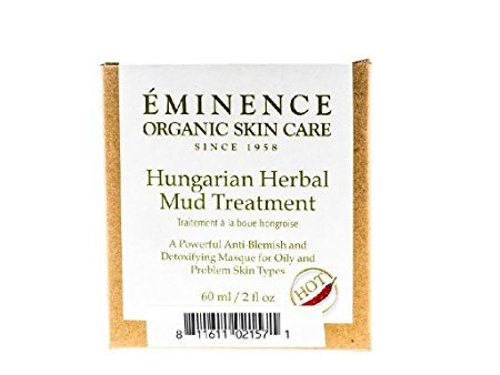 Eminence Organic Skincare Hungarian Herbal Mud Treatment, 2 Ounce