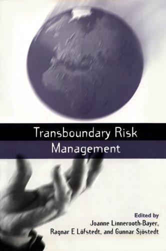 Transboundary Risk Management (English Edition) -