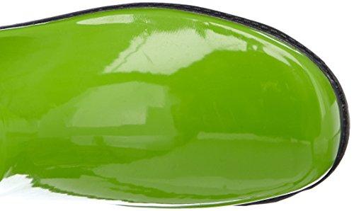 Playshoes Wellies Wellington Boots, Bottes de Neige femme Vert - Green - Grün (grün/grau 798)
