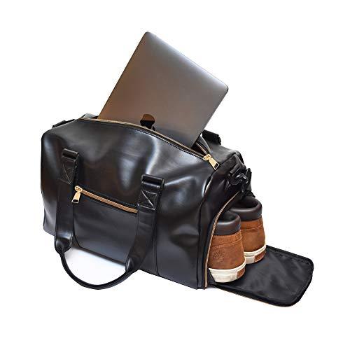 Ryanair Handgepäck 40 x 20 x 25 cm Reisetasche mit Schuhfach und Laptopfach, entworfen für das ultimative Reise- und Fitness-Erlebnis für Männer und Frauen