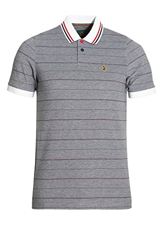 LUKE SPORT Brahamas Polo Shirt | Lux Navy Mix Lux Navy Mix