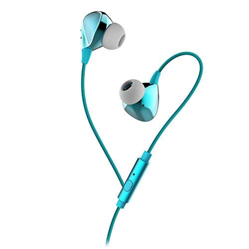 ELE CAM Kopfhörer Geräuschunterdrückung in Ear HIFI Headset Active Noise Cancelling-Kopfhörer Sport Joggen für Smartphone MP3 Laptop Tablet PC
