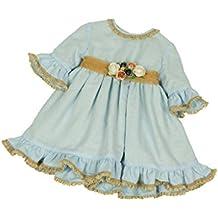 MI HIJA Y YO - Vestido Bebé de Gala con Pololos para niña